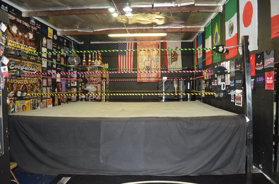 Used Pro Wrestling Ring For Sale