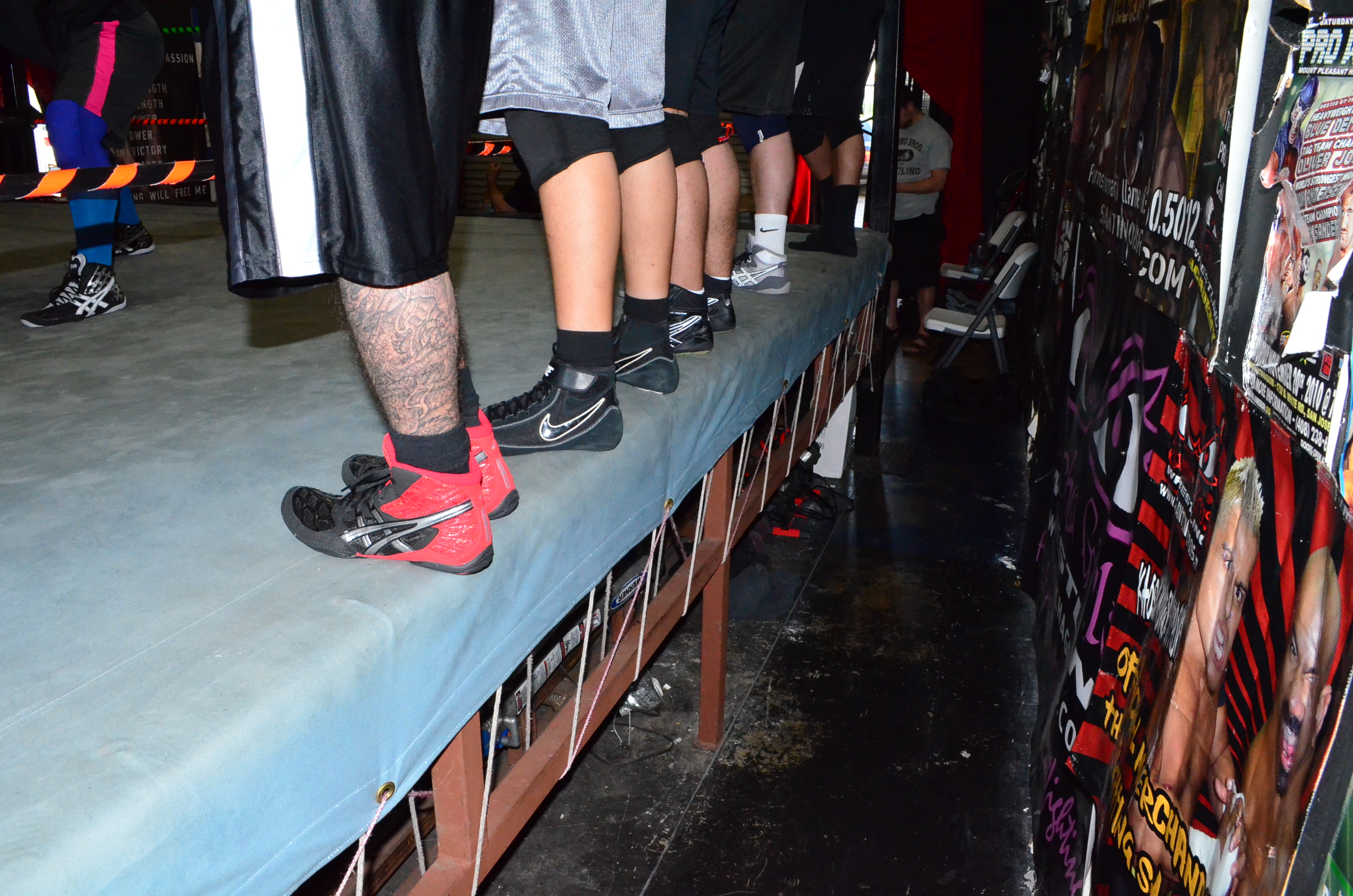 Pro Wrestling Training pictures – February 2015 – Santino